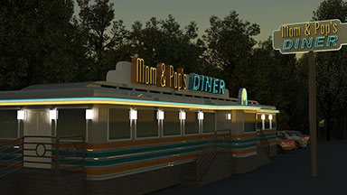 Little Diner Animation
